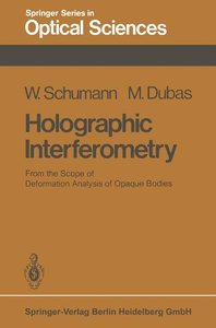 Holographic Interferometry