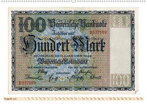 Geldscheine aus der ersten Hälfte des 20. JahrhundertsAltes Geld