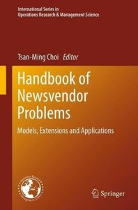 Handbook of Newsvendor Problems