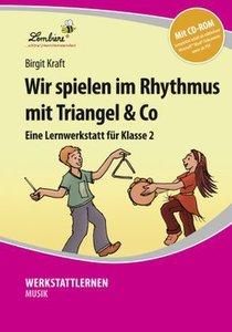 Wir spielen im Rhythmus mit Triangel & Co. Kopiervorlagen, Schne