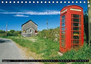 Cornwall - Devon Somerset Dorset (Tischkalender 2019 DIN A5 quer