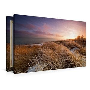 Premium Textil-Leinwand 90 cm x 60 cm quer Winterlicht