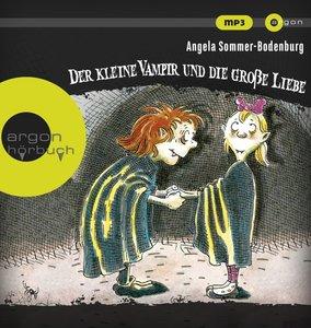 Der kleine Vampir und die große Liebe, 1 Audio-CD, MP3