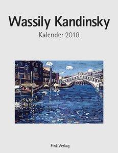 Wassily Kandinsky 2018. Kunstkarten-Einsteckkalender