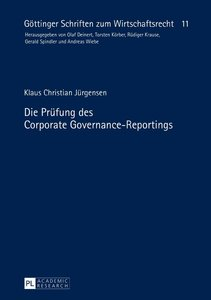 Die Prüfung des Corporate Governance-Reportings