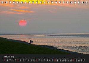 Lichter der Natur (Tischkalender 2019 DIN A5 quer)