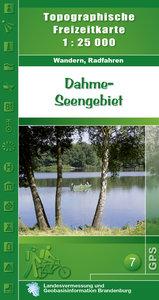 Dahme Seengebiet 1 : 25 000