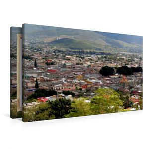 Premium Textil-Leinwand 90 cm x 60 cm quer Oaxaca