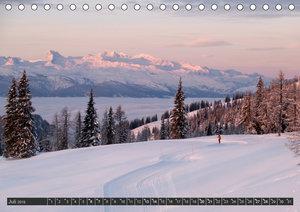 Winter auf der Tauplitzalm (Tischkalender 2019 DIN A5 quer)