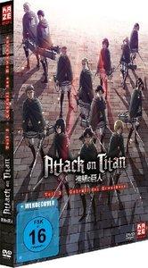 Attack on Titan - Anime Movie: Gebrüll des Erwachens. Tl.3, 1 DV