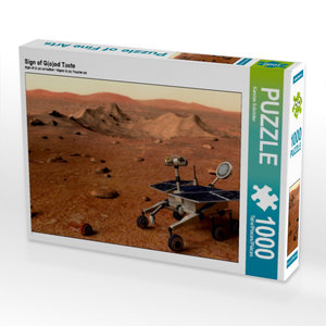 Sign of G(o)od Taste 1000 Teile Puzzle quer