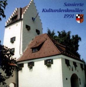 Sanierte Kulturdenkmäler 1991