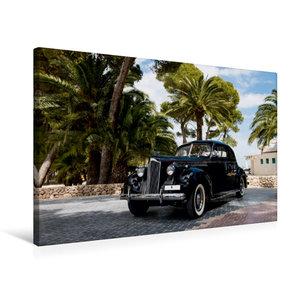 Premium Textil-Leinwand 75 cm x 50 cm quer Packard 120