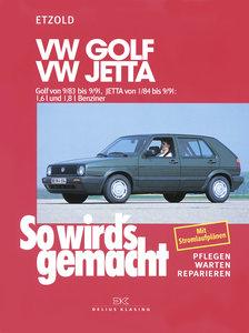 So wird's gemacht. VW Golf / Jetta / GTI / 16 V / Syncro