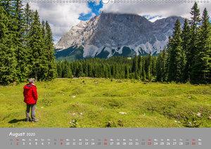 Naturparadies Zugspitzarena (Wandkalender 2020 DIN A2 quer)