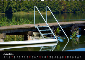 Das blaue Gold - Naturbadeteich LängseeAT-Version (Wandkalender