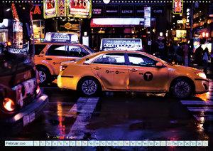 New York - nur im Taxi