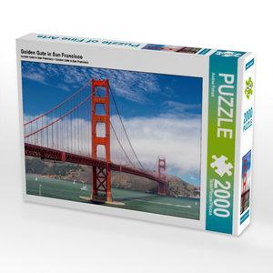 CALVENDO Puzzle Golden Gate in San Francisco 2000 Teile Lege-Grö