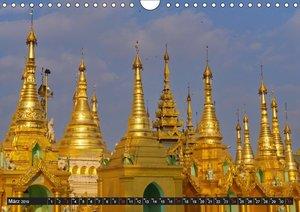 Zauberhaftes Myanmar (Wandkalender 2019 DIN A4 quer)