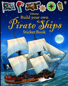 Build Your Own Pirate Ship Sticker Book