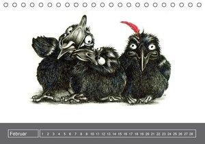 owls & friends Immerwährender Kalender (Tischkalender immerwähre