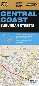 Central Coast Suburban Streets Map 1 : 25 000