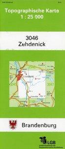 Zehdenick 1 : 25 000