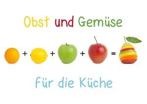 Obst & Gemüse für die Küche (Tischaufsteller DIN A5 quer)