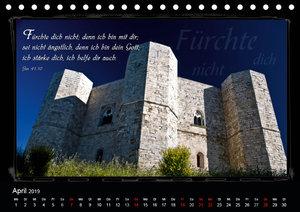 Monat für Monat ein Bibelvers (Tischkalender 2019 DIN A5 quer)
