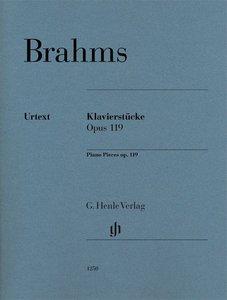 Klavierstücke op. 119 für Klavier zu zwei Händen. Revidierte Aus