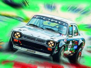 CALVENDO Puzzle Die erste Serie des Ford Escort war in den 1970e
