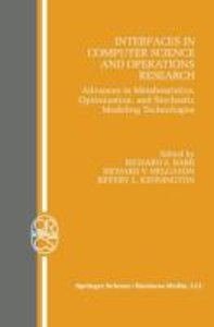 Interfaces in Computer Science and Operations Research