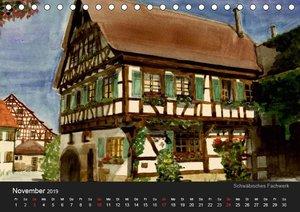 Deutschland in Aquarell (Tischkalender 2019 DIN A5 quer)