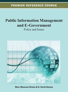Public Information Management and E-Government: Policy and Issue