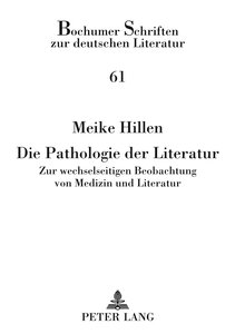 Die Pathologie der Literatur