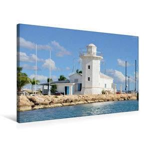 Premium Textil-Leinwand 75 cm x 50 cm quer Casa de Campo Marina,