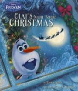 DISNEY FROZEN OLAFS NIGHT BEFORE CHRISTM
