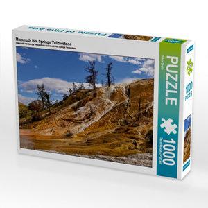 CALVENDO Puzzle Mammoth Hot Springs Yellowstone 1000 Teile Lege-