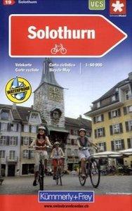 KuF Schweiz Radkarte 19 Solothurn 1 : 60.000