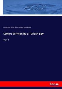 Letters Written by a Turkish Spy