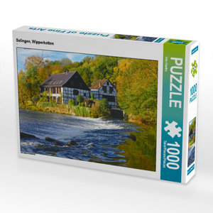 CALVENDO Puzzle Solingen, Wipperkotten 1000 Teile Lege-Größe 64