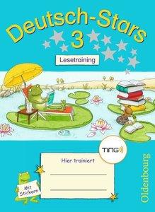 Deutsch-Stars 3 Schuljahr Lesetraining. Ting-Ausgabe
