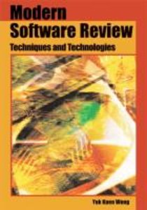 Modern Software Review: Techniques and Technologies