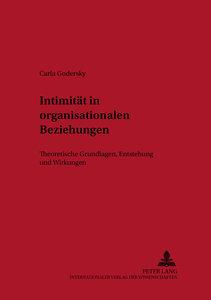Intimität in organisationalen Beziehungen