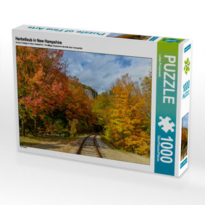 CALVENDO Puzzle Herbstlaub in New Hampshire 1000 Teile Lege-Größ