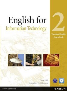 Vocational English Level 2 English for IT Coursebook (with CD-RO