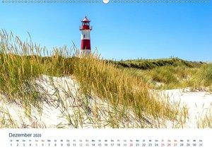 Leuchttürme an der See (Wandkalender 2020 DIN A2 quer)