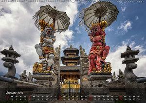 Bali - Insel der Tempel, Götter und Dämonen (Wandkalender 2019 D