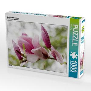 Magnolien-Traum 1000 Teile Puzzle quer
