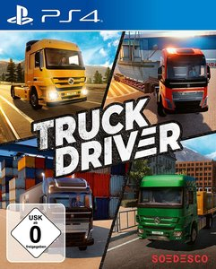 Truck Driver, 1 PS4-Blu-ray Disc